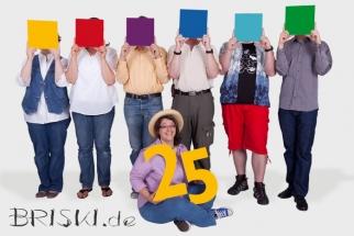 Teamfoto zum 25. jährigen Bestehen