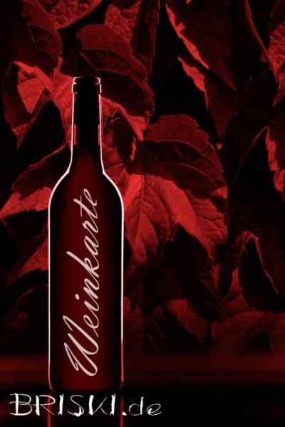 in Rottönen eine Weinkarte