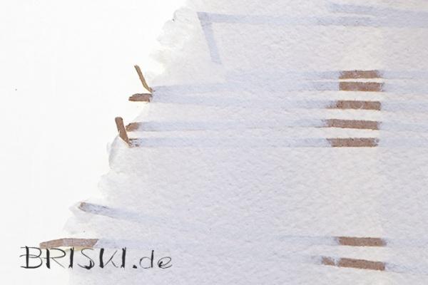 Produktaufnahme - Makro eines handgeschöpften Papiers