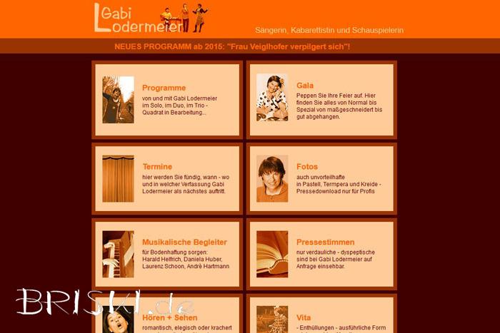 statische Website via HTML und CSS